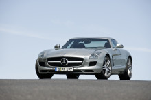 Continental Supplies Tyres for Mercedes-Benz SLS AMG