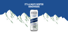 NOCCO återlanserar succén Limited Winter Edition Blueberry