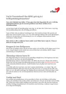 Tweeniebrud - kampanjen vi inte vill se