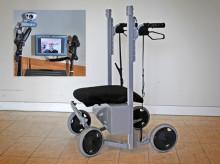 Nästa generations rullatorer är robotar
