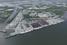 Utbyggnaden av Norrköpings hamn fortsätter
