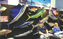 Gray Taxidermy at the 2012 Miami Boatshow