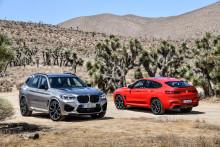 BMW X familien udvides med stærke M modeller