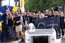 JU Solar Team på åttonde plats i World Solar Challenge 2017