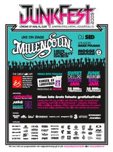 5-årsjubileum av Junkyard.se´s gratisfestival - Junkfest väntas locka över 5 000 ungdomar