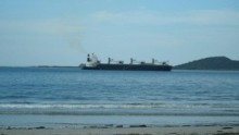 Tugs to aid grounded ship