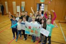 Vi gratulerar Laggarbergs skola till pris i nationell kretsloppstävling