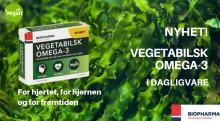 NYHET: Vegetabilsk omega-3 i dagligvare