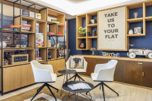 """Adagio geht mit neuem Konzept """"The Circle"""" in Italien an den Start und stellt das neu gestaltete Aparthotel Adagio Rome Vatican vor"""