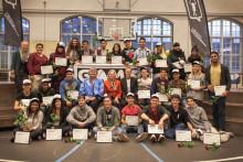 Unge gadeidrætsinstruktører fik overrakt diplomer