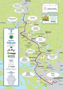 Karta Vikingarännet 2012