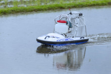 Yamaha Motor Exhibits New Unmanned Boat, 2018 WATER STRIDER - Improved Ease-of-use and Base Functionality -