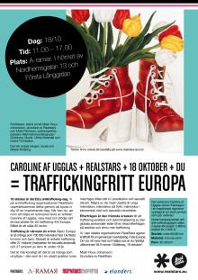 Inför EUs anti-traffickingdag 18 okt kraftsamlar Realstars mot en cynisk slavhandel
