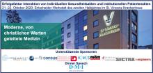 Okt. 2020 Entscheider-Werkstatt: Erfolgsfaktor Interaktion von individuellen Gesundheitsakten und institutionellen Patientenakten und CHCIO Prüfungsvorbereitung & Prüfung