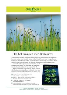 Aromatiska Blad, en bok smaksatt med färska örter