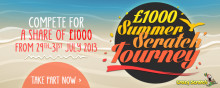 £1000 Summer Scratch Tourney