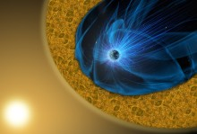 Ny magnetisk process upptäckt i turbulenta områden i rymden
