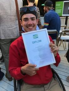 Alejandro Sinisalo är Snällast i Almedalen 2017