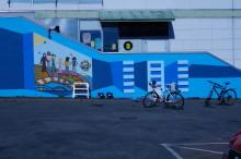 Pressinbjudan: Sätt färg på Göteborgs ungdomar lyfter fram arkitekturen i en destruktiv miljö