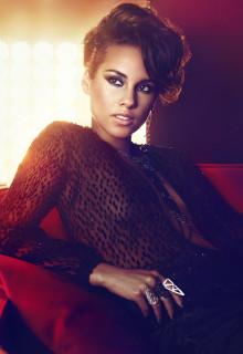 Världsstjärnan Alicia Keys gästar Skavlan