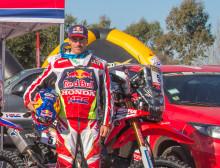 Honda Team HRC - Joan Barreda obesegrad i Vegas till Reno racet!