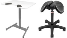 New from Salli Systems - Saddle chair with a smaller seat