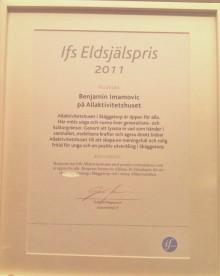 Ifs Eldsjälspris till Linköpingsbo