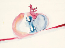 Leiko Ikemura på Nordiska Akvarellmuseet / Pressvisning 8 Februari kl. 12