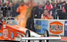 Top Fuel Dragracing Micke Kågered, Santa Pod, England 24-26 maj