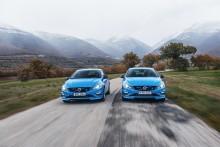 Nya 367-hästars Volvo S60 och V60 Polestar är här