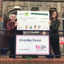 Costcutter raise over £1,000 to support families with sick children in hospital with free 'Home from Home' accommodation