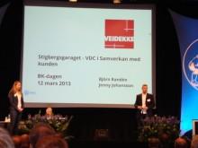 Veidekke höll ett grensesprengende föredrag om VDC och samverkan