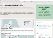 GÅ DANSK og Sproggren.dk med på Integrationens Danmarkskort