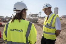 Leading housebuilder boosts broadband for Treharris homes after cementing deal with Openreach