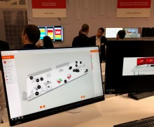 Flowscape displayed at Europe's biggest IT-vendor event