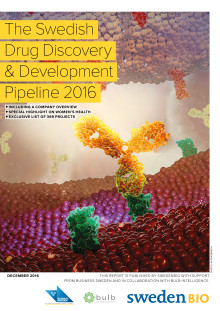 The Swedish Drug Discovery and Development Pipeline 2016