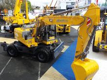16 tons hjulgrävare – en stor nyhet för Abelco
