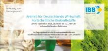 """Pressegespräch """"Antrieb für Deutschlands Wirtschaft: Fortschrittliche Biokraftstoffe"""""""