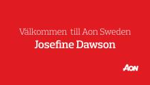 Aon Sweden har rekryterat Josefine Dawson