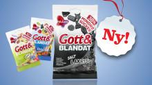 Malaco Gott & Blandat Salt Lakrits – ett nytt alternativ med 30 % mindre socker för lakritsälskaren!