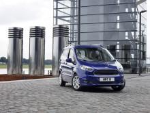 Nye Tourneo Courier er best i sin klasse på drivstoffeffektivitet, plass og eksklusivt sikkerhetsutstyr