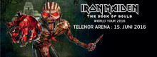 "​Iron Maiden bekrefter konsert i Norge den 15. juni 2016 med ""The Book Of Souls World Tour"""