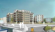 Bygglovsbesked för HSB brf Kaptenens 99 lägenheter i Limhamns Sjöstad