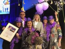 Helsingborg korad till Årets Purple Flagstad 2018!