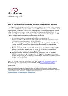 Bilaga till pressmeddelandet 600 barn med NPF lämnar sina berättelser till regeringen