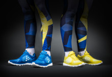 Swedish national XC team in Craft running shoes