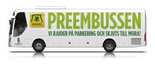 Preems transferbussar tar skidåkare och fans till Vasaloppet