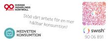 Föreningen Medveten Konsumtion har beviljats 90-konto