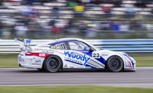 Nilsson avslutade med seger i Porsche Carrera Cup