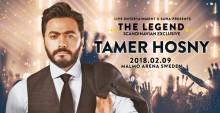 Tamer Hosny till Malmö Arena i februari 2018!